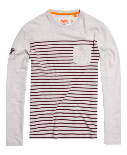 Superdry Solent Stripe Long Sleeve T-shirt