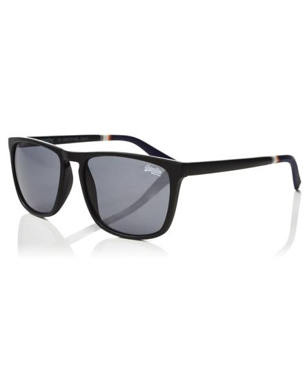 matt schwarz Superdry Shockwave Sonnenbrille