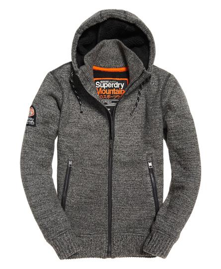 Superdry Expedition jakke med hætte og lynlås
