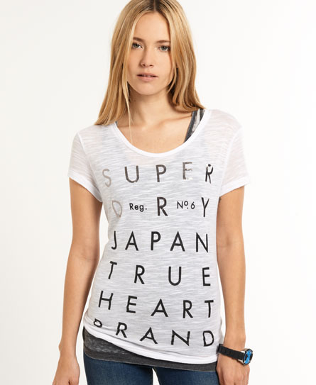 Superdry No.6 Type T-shirt White