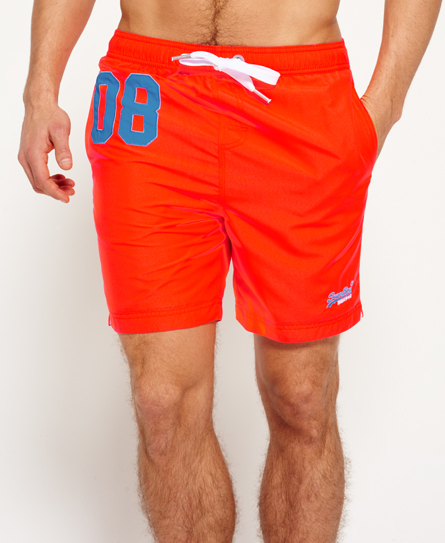 havana orange Superdry Premium Water Polo Shorts