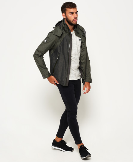 Superdry Arctic Hooded Cliff Hiker Hybrid Jacket