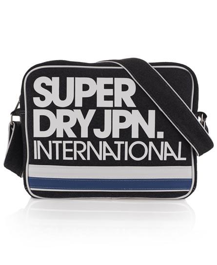 Superdry International Alumni Bag Dark Grey