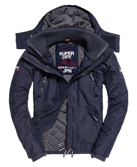 superdry sd wind yachter kapuzenjacke herren jacken m ntel. Black Bedroom Furniture Sets. Home Design Ideas