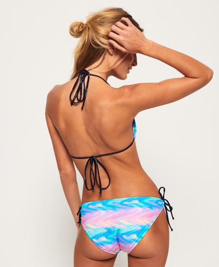 SUPERDRY Haut de bikini triangle irisé Les Dates De Sortie Prix Pas Cher Prendre Plaisir 8UNyvKh