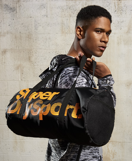 Superdry Super Sport Gym Barrel Tasche