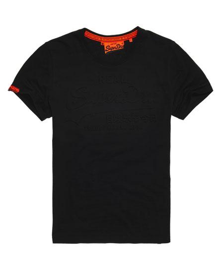 Superdry Vintage T-Shirt mit Logoprägung