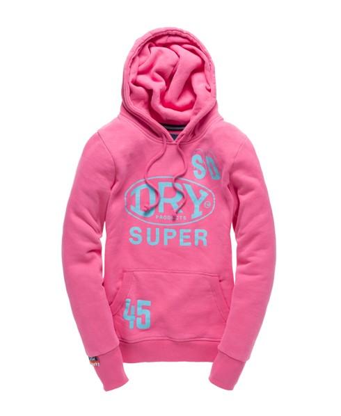 Superdry Trader Hoodie Pink
