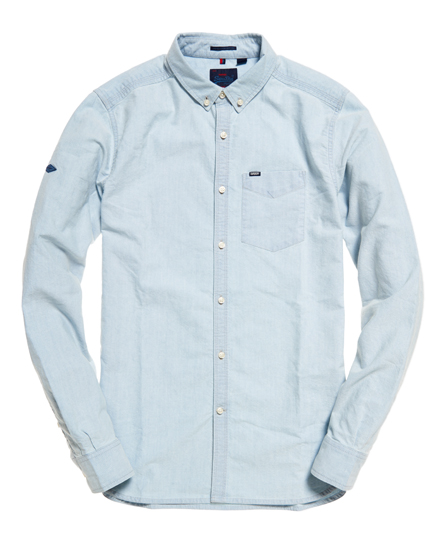 Superdry - Camisa Indigo Loom Oxford - 2