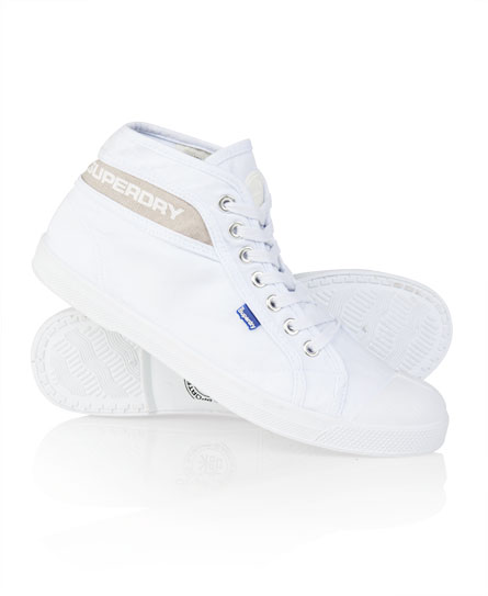 Superdry Corsair Mid Shoe White