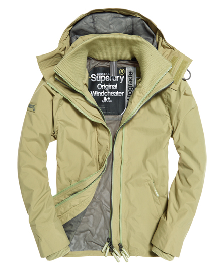 Pop Zip Hooded Technical Windcheater