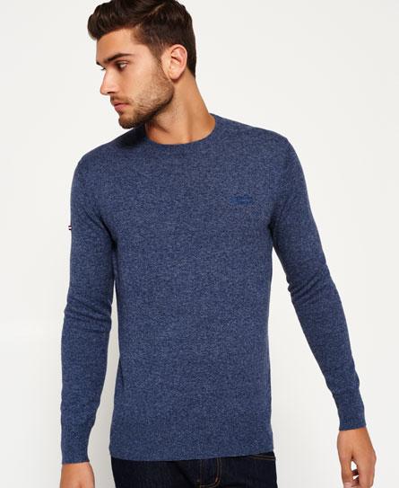 mens jumpers shop jumpers for men online superdry. Black Bedroom Furniture Sets. Home Design Ideas
