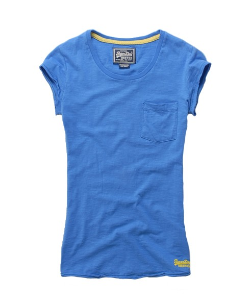 Superdry Pocket T-shirt Blue