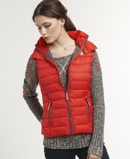 Superdry Fuji Vest Red