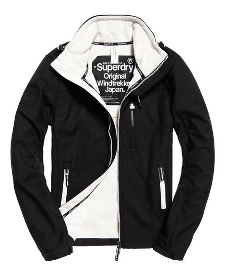 schwarz/ecru Superdry SD-Windtrekker Jacke