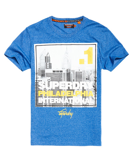 Best Sale Box Photo City Philadelphia T-shirt Superdry Buy Cheap Affordable New Discount Low Shipping Outlet Largest Supplier nPvLV
