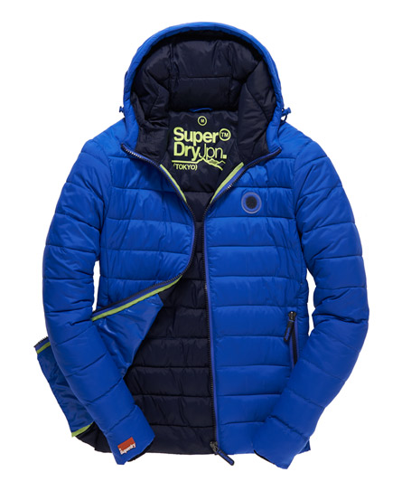Mens - Fuji Jacket in Electric Blue | Superdry