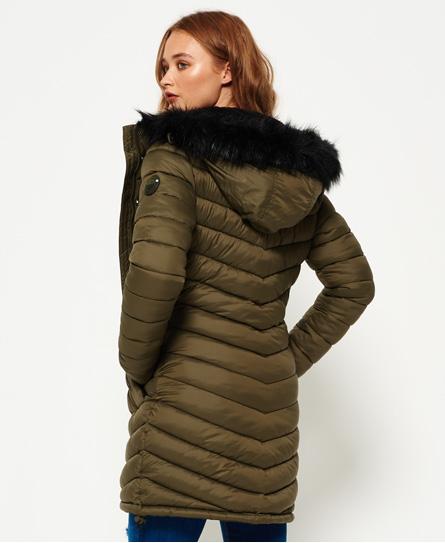 Superdry Chevron Fur Super Fuji Jacket Women S Jackets