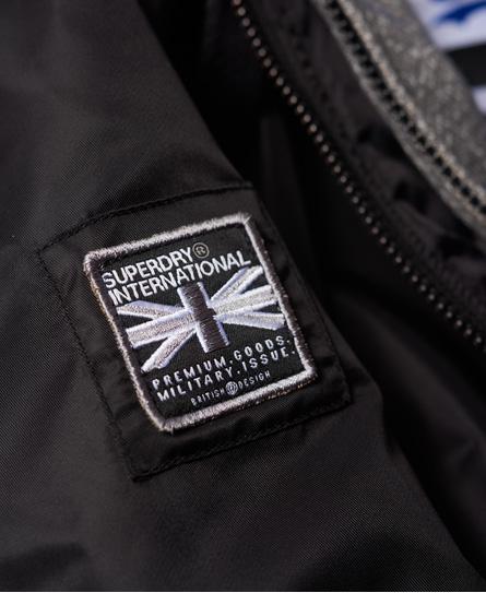 Superdry Caleb Hooded Bomber Jacket