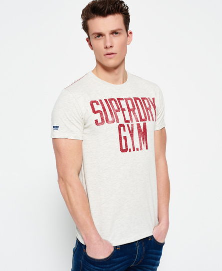 Mens Gym Locker T-Shirt Superdry Fashionable Cheap Online Free Shipping Manchester Great Sale View Sale Online Big Sale Online DQknMflaWk