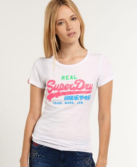 Superdry Vintage Logo T-shirt White