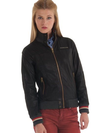 Superdry Ascari Bomber Jacket Black