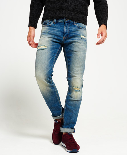Superdry Vaqueros slim fit - factory repair przpB
