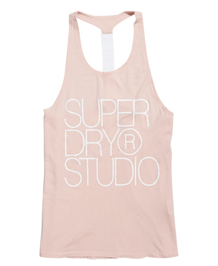Superdry Studio top med elastisk design