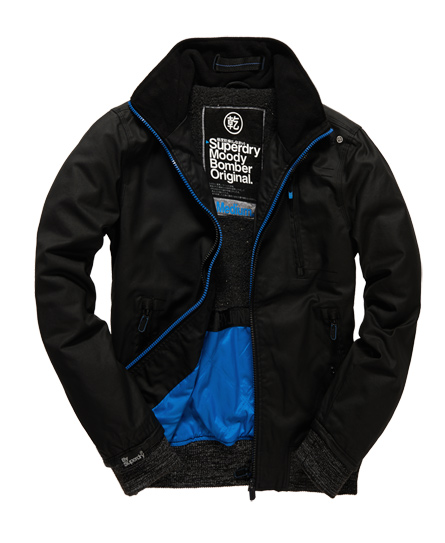 superdry blouson bombardier moody norse vestes pour homme. Black Bedroom Furniture Sets. Home Design Ideas