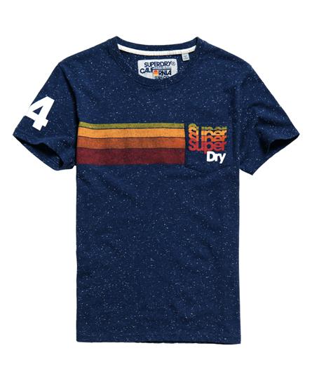 Superdry Pacific T-Shirt mit Tasche