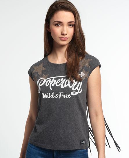 Superdry Superdry Savanna Fringe T-shirt