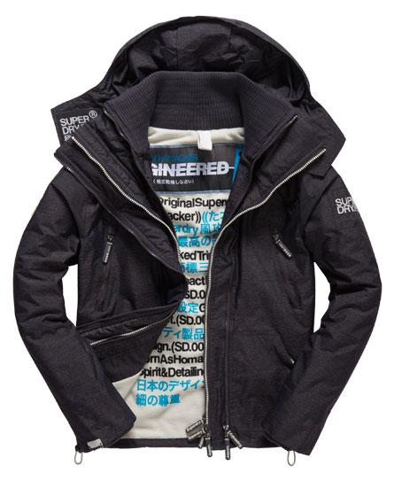 Superdry Superdry Arctic SD-Wind Attacker jakke med hætte