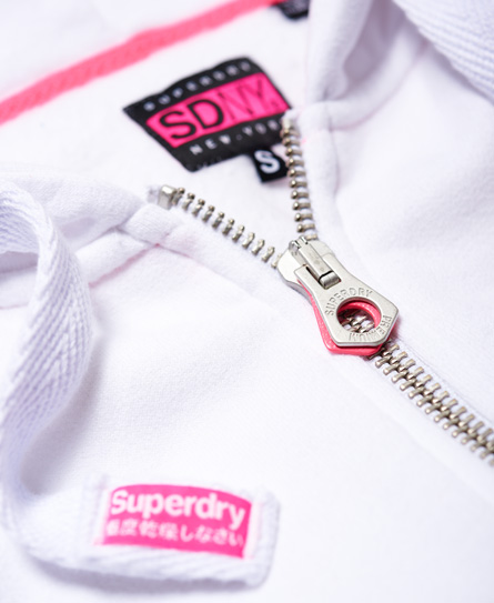 Superdry Veste à capuche zippée Raglan Sport Code