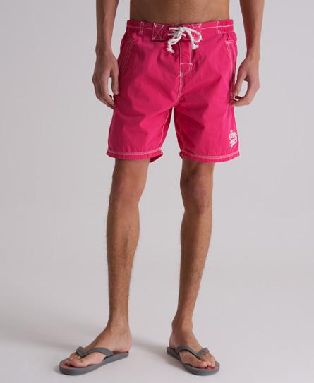 Superdry Premium Deck Shorts Pink