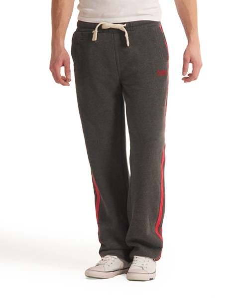 Superdry Embroidered Fives Jogger Dark Grey
