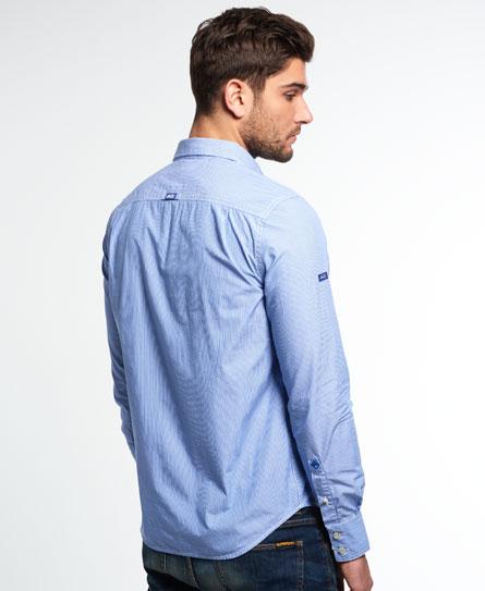 Superdry Dobbie Laundered Cut Collar Shirt