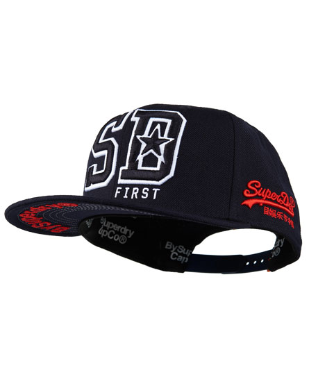 Superdry Kingston Cap Navy