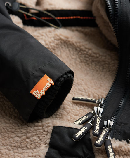 Superdry Hooded Microfibre Super Wind Parka Womens Jackets