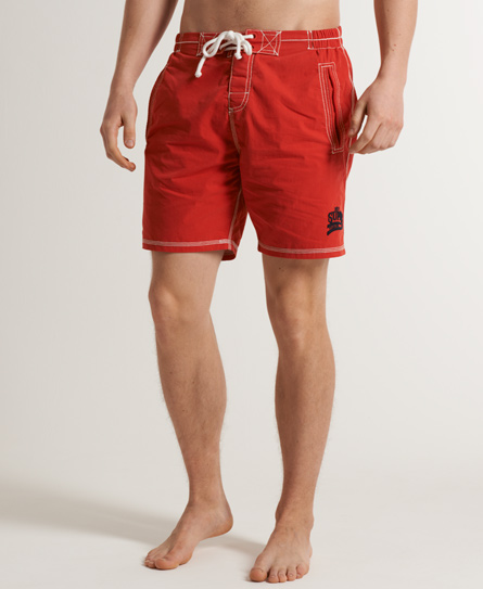 Superdry Premium Deck Shorts Red