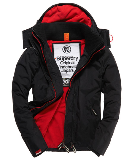 Superdry Arctic Windcheater black/red