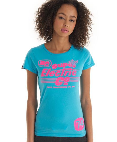 Superdry Shockwave T-shirt Blue
