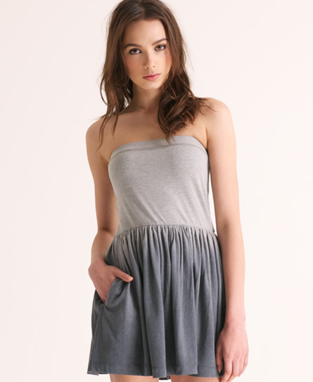Superdry Dip Dye Dress Dark Grey
