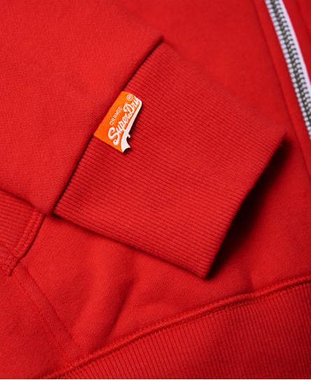 Superdry Orange Label Zip Hoodie