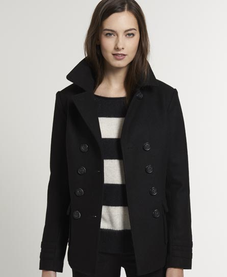 Superdry Liberty Bell Peacoat Black