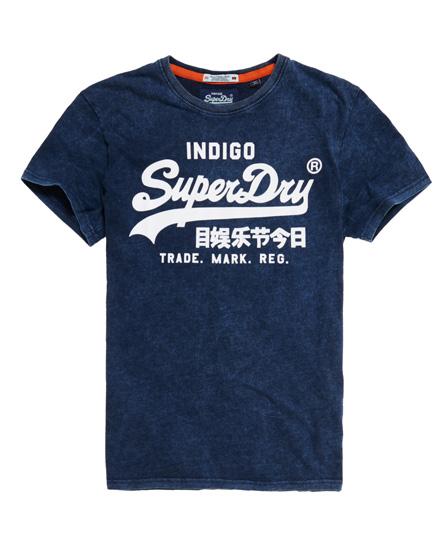 Superdry Vintage Logo Indigo T-Shirt