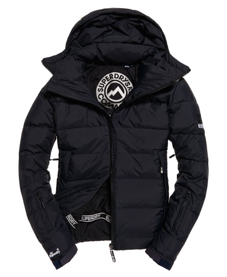 super dark navy Superdry Ski Command Utility Kapuzenjacke