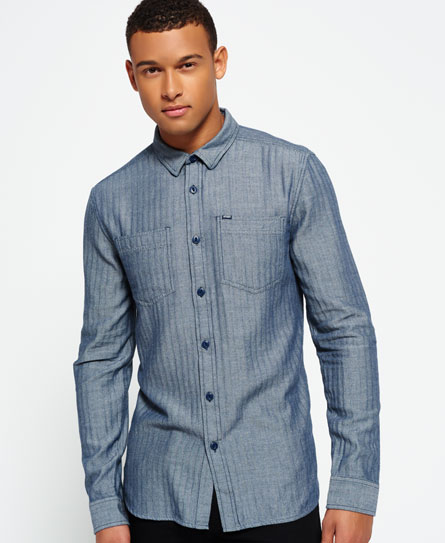 Clearance 100% Guaranteed Cheap Sale Finishline Tweed Riveter Shirt Superdry Sale Get Authentic mLkymL
