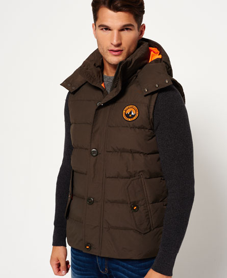 oliva Superdry Gilet Everest