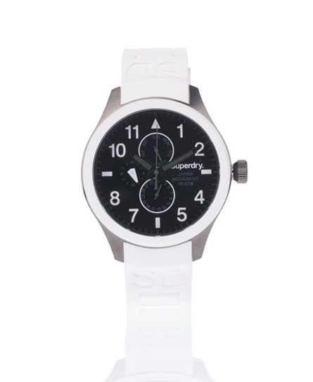 Superdry Scuba Multi-Dial Watch White