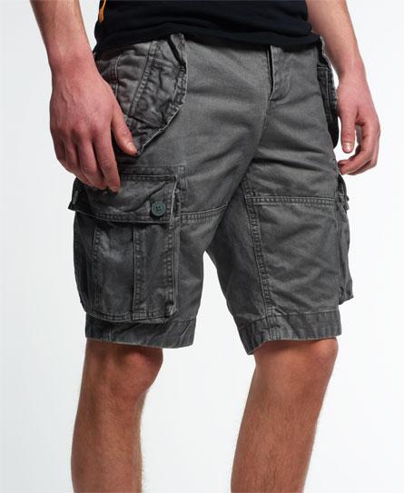 Superdry New Core Cargo Heavy Shorts Grey